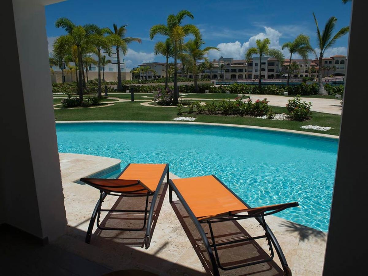AlSol Tiara Cap Cana Punta Cana Dominican Republic - Ocean Suite Swim Out