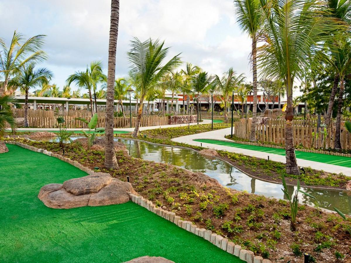 Barcelo Bavaro Palace Punta Cana Dominican Republic -Miniature Golf