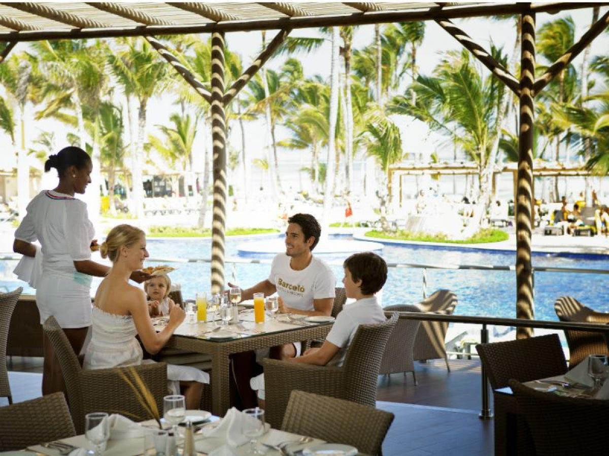 Barcelo Bavaro Palace Punta Cana Dominican Republic -Miramar Buffet