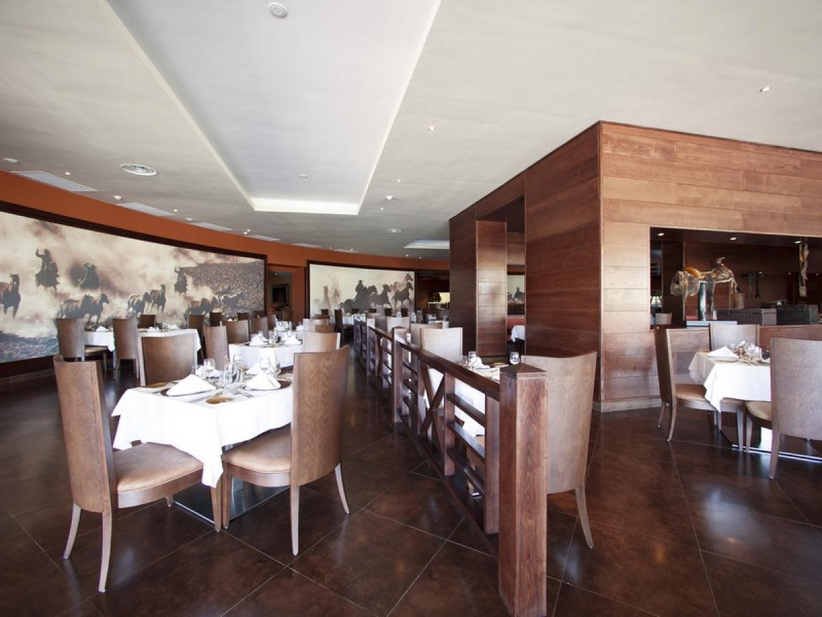 Barcelo Bavaro Palace Punta Cana Dominican Republic - Santa Fe Steak House