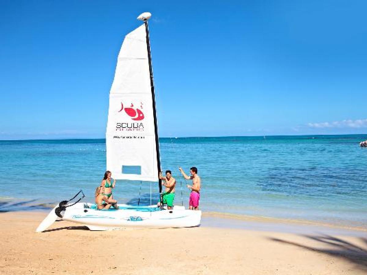 Luxury bahia Principe Ambar Blue Punta Cana - Beach and Water Spo