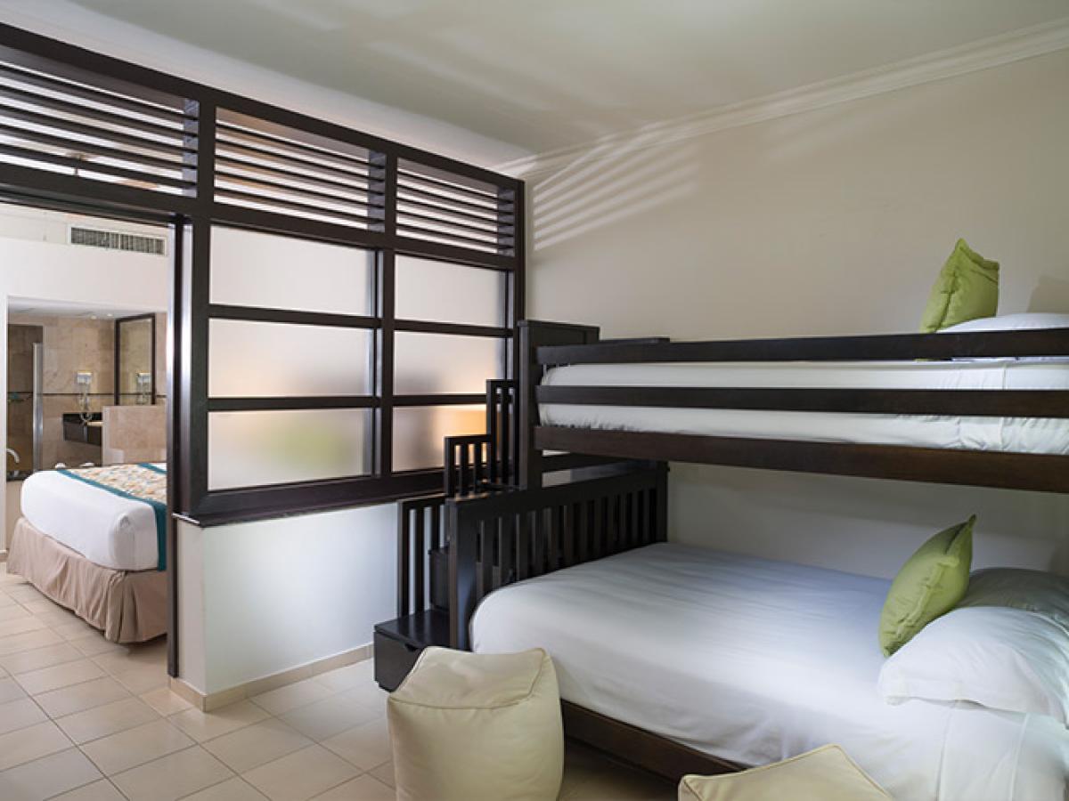 Memories Splash Punta Cana Dominican Republic - Deluxe Family Jacuzzi Suite