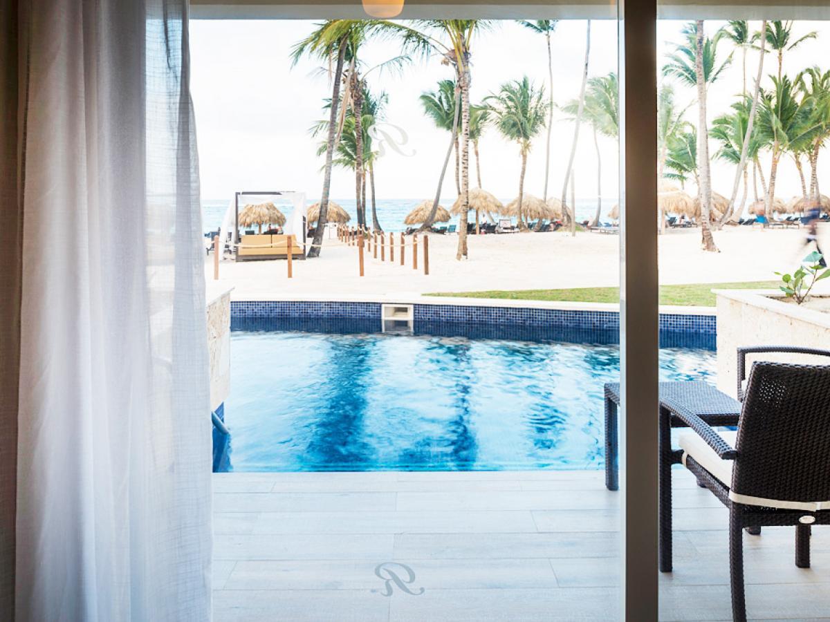 Royalton Punta Cana Dominican Republic - Luxury Presidential Jacuzzi Swim Out On
