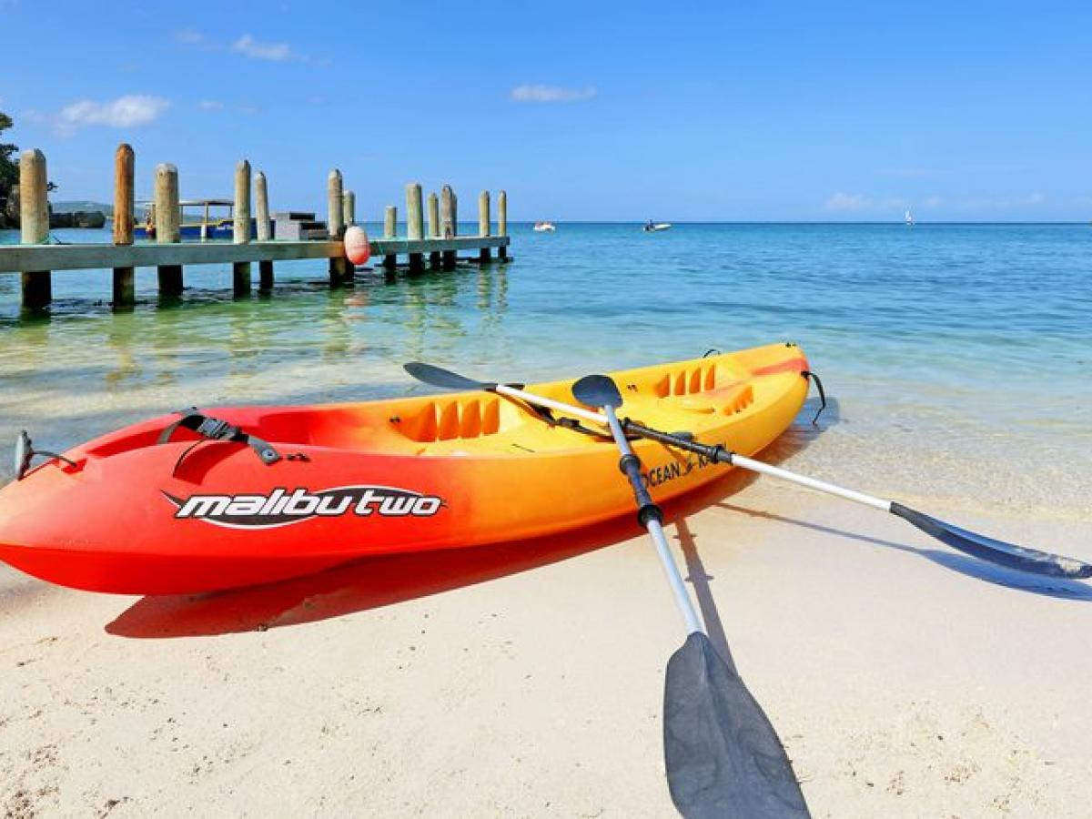 Grand Palladium Jamaica resort and spa - kayaking