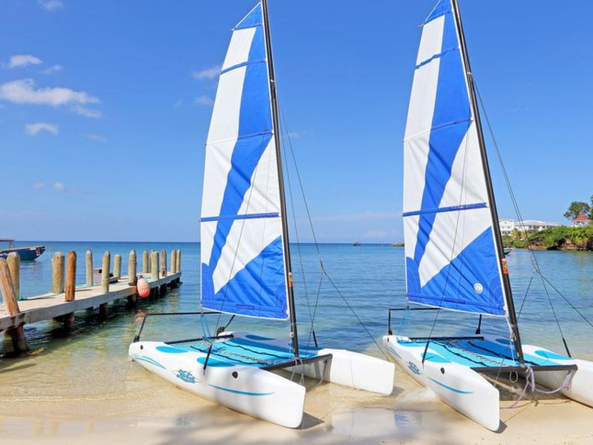 Grand Palladium Jamaica resort and spa - sailboats