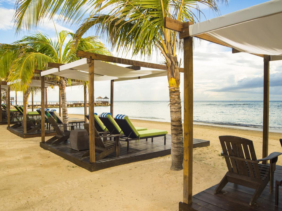 Hilton Rose Hall Resort & Spa Resort - Beach Cabanas