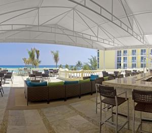 Hilton Rose Hall Resort & Spa Montego Bay Jamaica - Bar King Frog