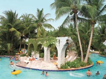 Hilton Rose Hall Resort & Spa Montego Bay Jamaica - Water Park