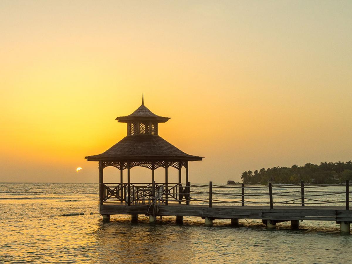 Holiday Inn Resort Montego Bay Jamaica - Gazebo for Wedding