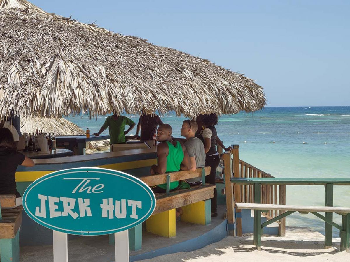 Holiday Inn Resort Montego Bay Jamaica -Jerk Hut