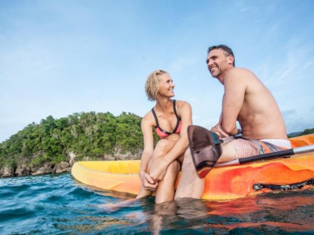 Couples San Souci Ocho Rios Jamaica - Kayaks