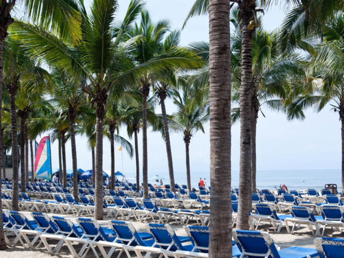 Riu Vallarta Mexico -Beach